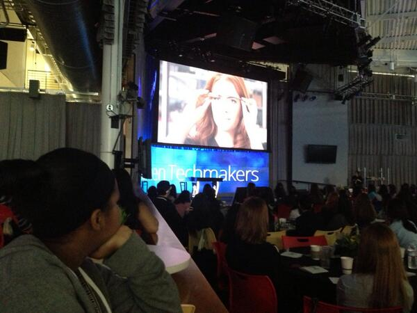 @TellMeMoreNPR Speaker: Lead designer for @google Glass Isabelle Olsson #WomenTechmakers #NPRWIT http://t.co/Be71rhD1oI