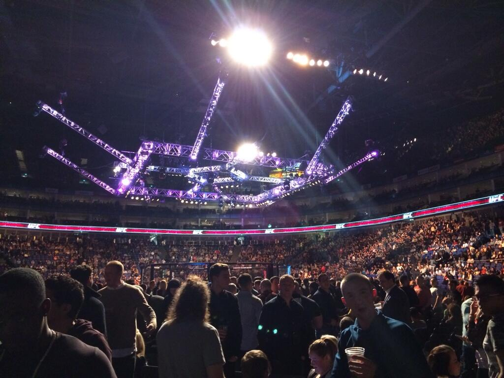"RT @UFC_UK: Great to see you, Noel! ""@NoelClarke: Loving the @UFC_UK @ufc event as usual. #havingAWalk http://t.co/Y2K3vy8OCn"""
