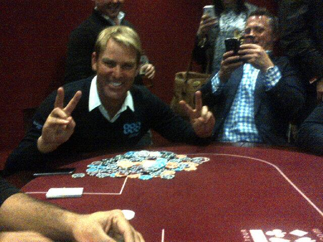 RT @thesportingedge: I had a great Poker teacher for a while........ But then the mastery kicked in! @888Poker @warne888 http://t.co/T6JYUm…