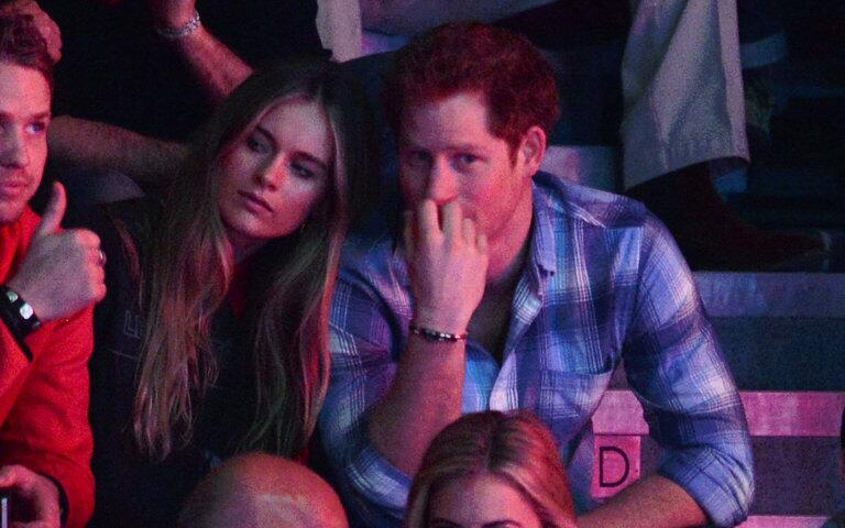 Prince Harry cozies up to girlfriend Cressida at his official engagement: http://t.co/KYY2FdZ0g3 http://t.co/NbzDTVjExF