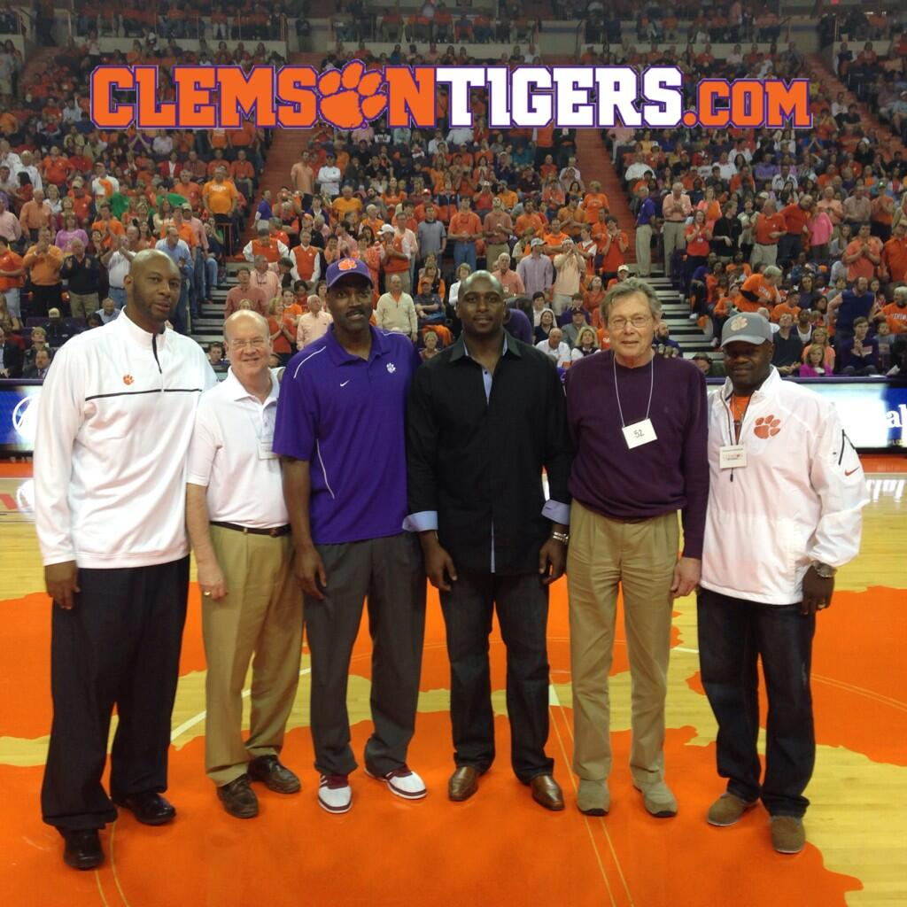 "Clemson Athletics on Twitter "" Clemson greats Elden Campbell"