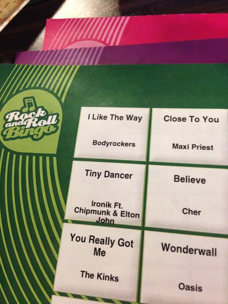 RT @Beccidh: Appearing on my bingo sheet...hope it's a good omen lol @DJIronik http://t.co/EkGg7OhagP
