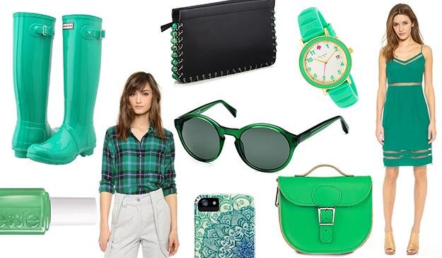 Green green green! Celebrate #StPatricksDay in style with our favorite emerald picks: http://t.co/JOkWVbLpmO http://t.co/g1HDS8KXjr