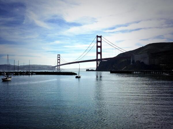 Super grateful for all the RTs and Faves today...thank you! I'm out having fun around the Bay on this gorgeous day... http://t.co/3kHbFmqNdh