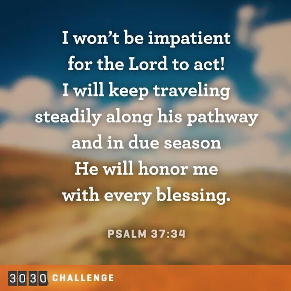 I trust God's timing. #3030Challenge http://t.co/jgPv0VVuUS
