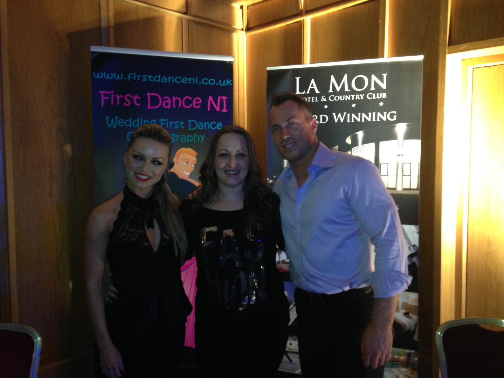 RT @leighbsweeney: Had an amazing evening with @The_JamesJordan and @The_OlaJordan. Stunning dancers and just lovely people. x http://t.co/…