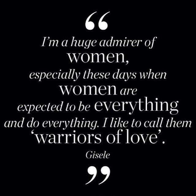 Happy #InternationalWomensDay! Here's to all the incredible women in all of our lives. <3 (Quote: @giseleofficial) http://t.co/CJ2JgryAZN