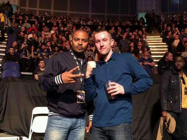 RT @mickryder86: @NoelClarke @UFC_UK @ufc We both said Gustaffson was to much to soon for Manuwa  #UFCLONDON http://t.co/esZVpfV0Dr