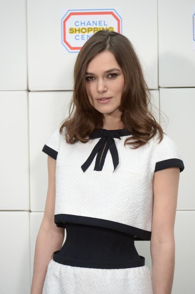 Keira Knightley debuts a wild new silhouette--see the full look here: http://t.co/qnV13v57x6 http://t.co/kDtengI9Q5