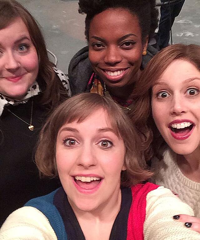 We can't wait for @lenadunham to host @SNL tonight! Will you be tuning in? http://t.co/NZEjam1ZJn http://t.co/6rOulPLTQf