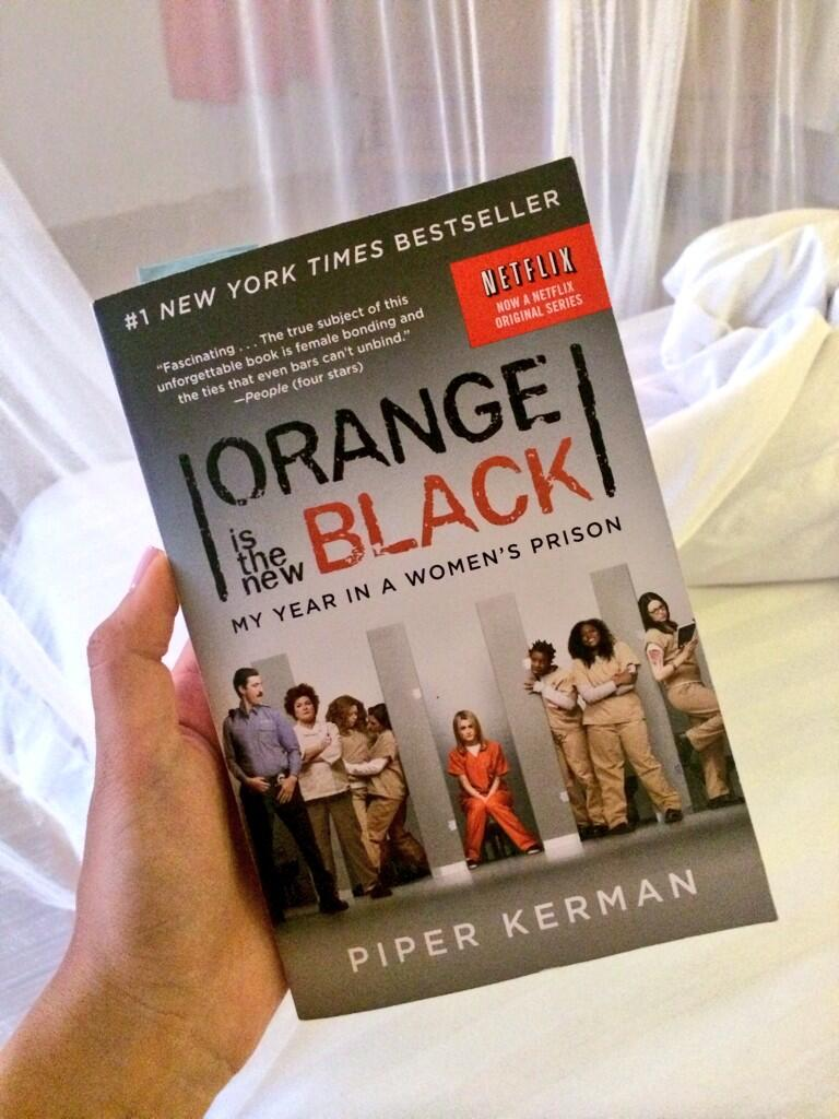 Orange Is The New Black Book For