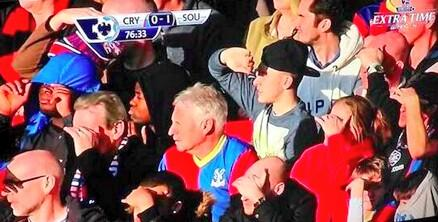 RT @BBCSporf: #ThatAwkwardMoment When you don't realise that your cap can be used to block out the sunlight. http://t.co/m3315EV4ju
