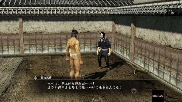 龍が如く維新はこんなゲームです   #PS4share http://t.co/asvWFqTerN
