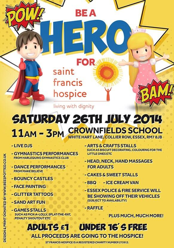 RT @djsb29: @micky_norcross please RT our event for Saint Francis Hospice in July!! X http://t.co/P1Ij7AuhnX