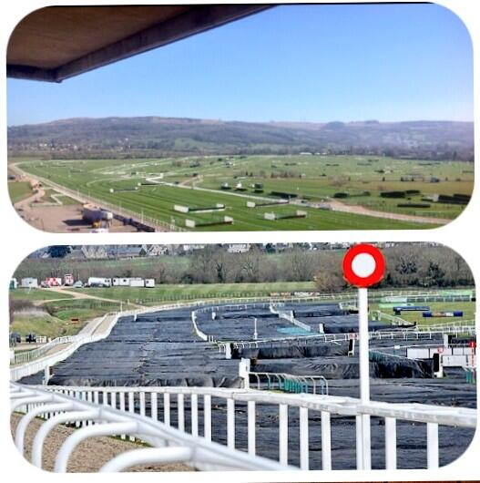 What a difference a year (just about) makes. #Cheltenham http://t.co/79fJNKUJaT