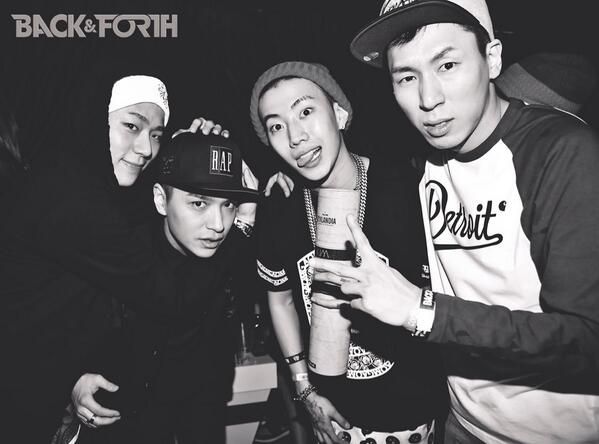 Zico SimonD Jay Park and Dj Pumkin! 사진들 곧 백앤포스 통해서 공개할게요!!:) #Backnforth #AOMG http://t.co/izPn5FkY6Q