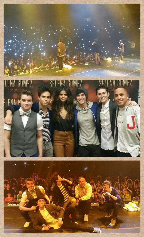 What a night. Met @justinbieber, performed w/ @selenagomez & met tons of new fans. Thx Texas  #redheads #selenators http://t.co/fnYupbjX92