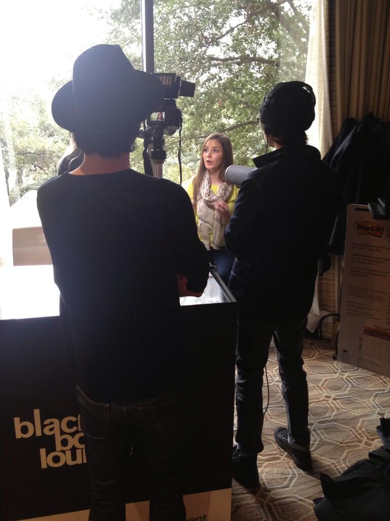RT @JoseResendez: Check out @Fleishman's #SXSW editor in chief @GwenFoutz being interviewed at the #FHblackbox Lounge! @fourseasons http://…