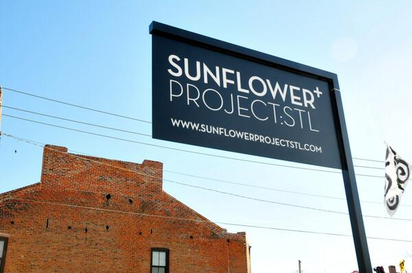 I recently stumbled upon the @SunflowerStL in Old North St. Louis. http://t.co/cN5vtEqyoU http://t.co/CtQkr4O170