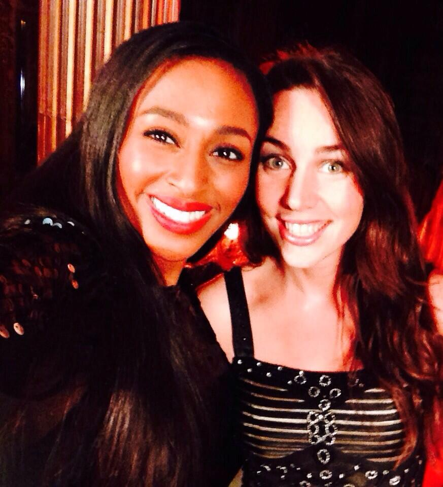 RT @Liv_Boeree: Utterly blown away by the @alexandramusic 's acoustic set last night. Also get this top notch selfie with her! http://t.co/…