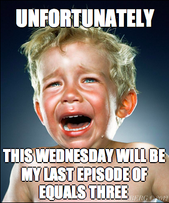 After 5 years and 400 something episodes, it finally comes to an end. http://t.co/6aLrXqpoSn