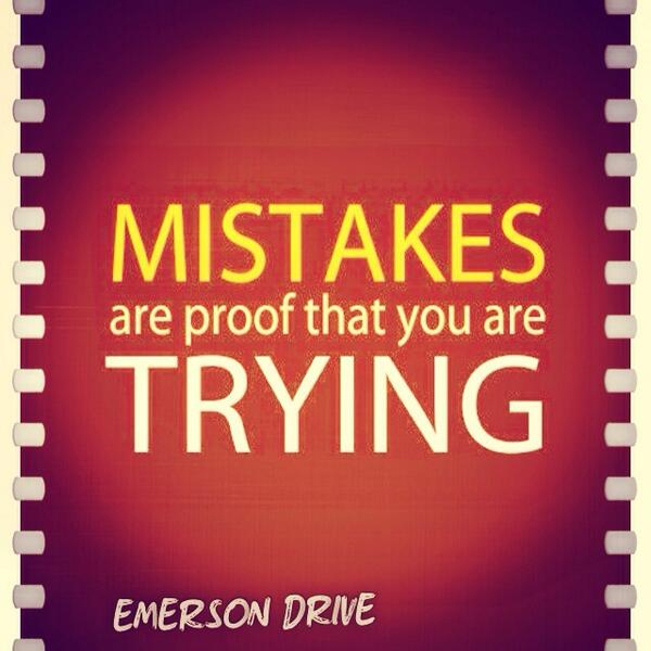 When is the last time you made a mistake? http://t.co/2JgIy1pVCJ