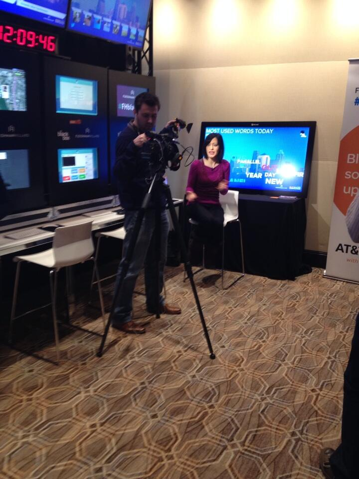RT @alanchumley: @bbc filming in @fleishman 's #fhblackbox #sxsw social media command center making big data small. http://t.co/WItmwrvdWd