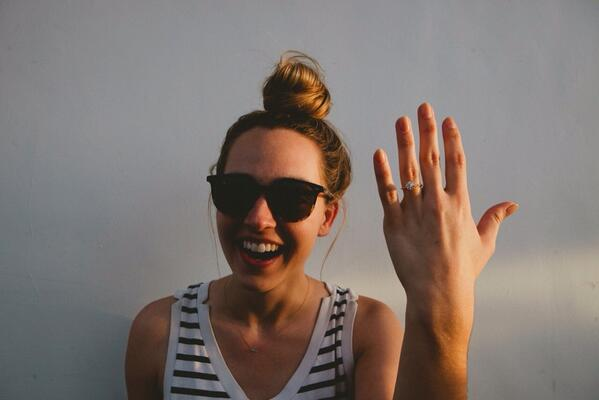 Katelyn Tarver Get's Engaged! photo 2