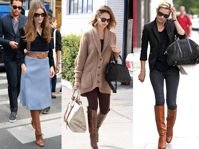 18 celebs show us what to wear with brown boots: http://t.co/GhTzupV6xD