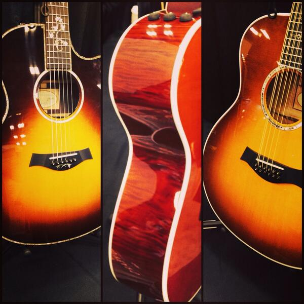 Need something to hold between sessions at #sxsw interactive? 612e, 656ce 12-string, and a 916ce #guitar. Booth 720 http://t.co/A5JOzZXgmH