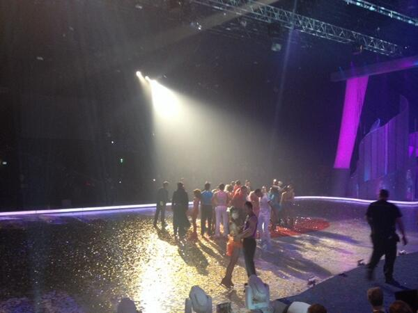 That's the end of an era! @therealRayQuinn is the ultimate @dancingonice champion & rightfully so! Well done!' :) http://t.co/Ty17XqLasB