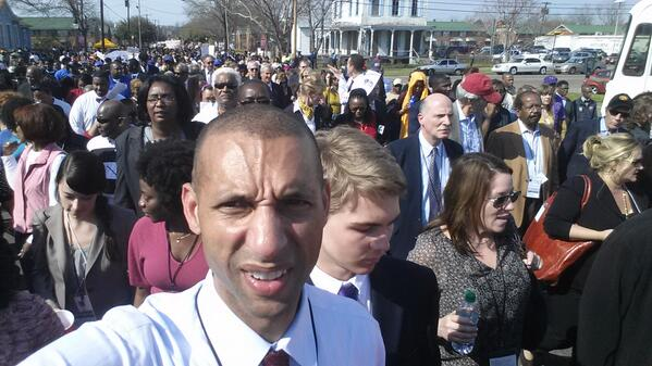 I have written on Voting Rts as Prof for yrs, but this is my 1st time in Selma. Speechless. @JointCenter http://t.co/I2ilYVHuBo
