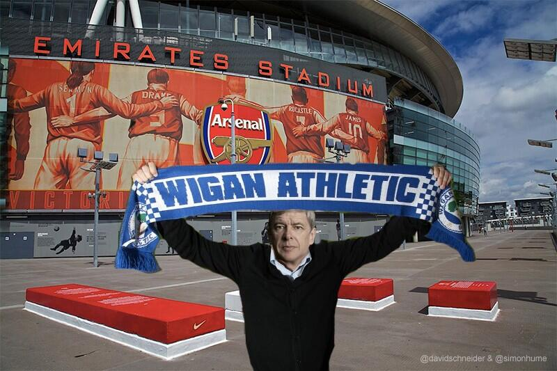 Today we are all Wigan fans #FACup (with thanks @SimonHume) http://t.co/FYL2gMr4QB