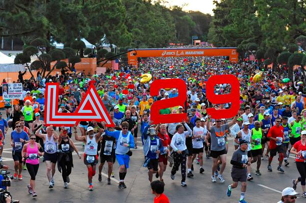 Congrats #ASICS @LAMarathon finishers!! View your unofficial results here: http://t.co/dufpV9lPp4 http://t.co/uZhPcvybHU