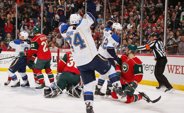 At 44-14-6 (94 points), the Blues have taken over the No. 1 spot in the League. #stlblues http://t.co/JGb4PQSSKd
