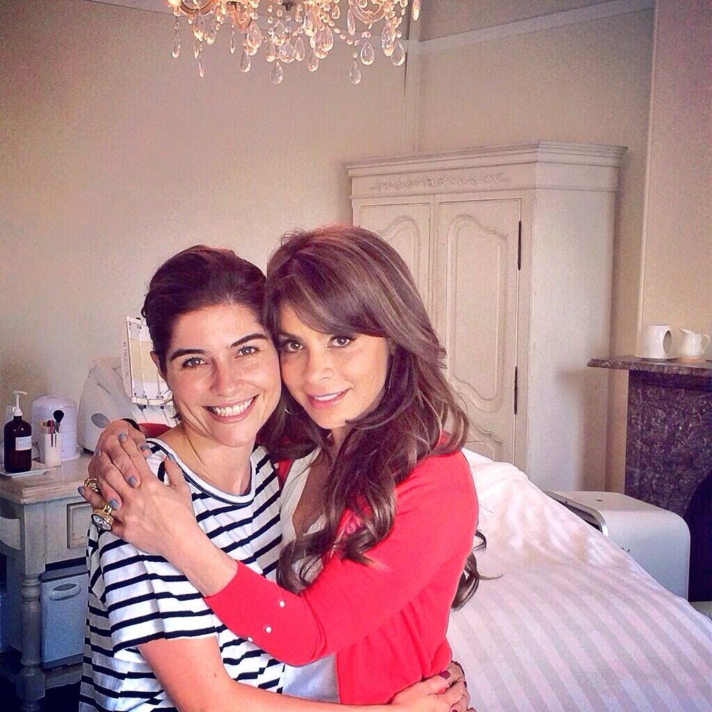 Thanks so much, beautiful! xoP RT @JocelynPetroni: Giving adorable @PaulaAbdul a Signature Facial in the salon http://t.co/Sf2dr1EbM2