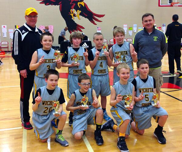 """May The 4th Be With You Wichita: Gary Decker On Twitter: """"The Wichita SHOX 4th Grade Boys"""