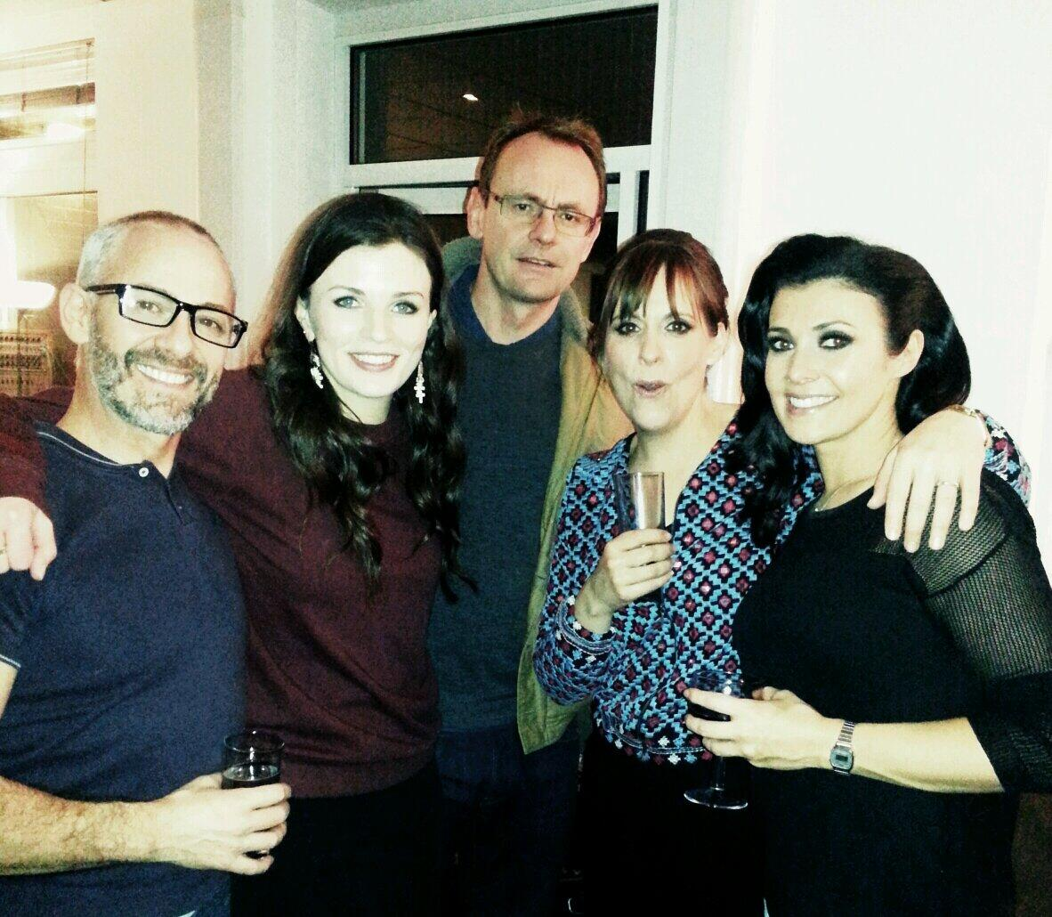 RT @VincentAllenby: @8Outof10Cats_TV Aisling Bea, Sean Lock, lovely Mel Giedroyic & @msm4rsh hair @VincentAllenby @trevorsorbie fab time☆ h…