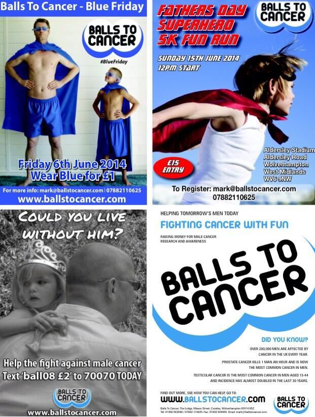 RT @Ballstocancer: If anyone would like copies of our posters then please get in touch. Email contact@ballstocancer.com http://t.co/YgF5duc…