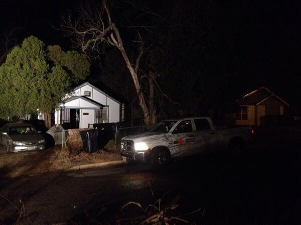 .@OKRedCross at the house fire in NE OKC to help this couple. @OKCFOX #liveonokcfox http://t.co/rg7fDTTsVz
