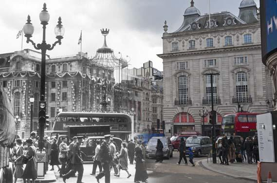 Our home now & in 1953. The @MuseumofLondon's Streetmuseum app adds 103 new #London locations! http://t.co/p41lUw5Whb http://t.co/I1sdS7kLol