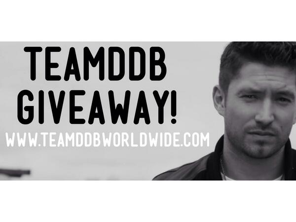 Giveaway on http://t.co/WAjR1MKZRS starts now! Enter to win DDB & #TeamDDB merchandise! http://t.co/mjOASgvJQx