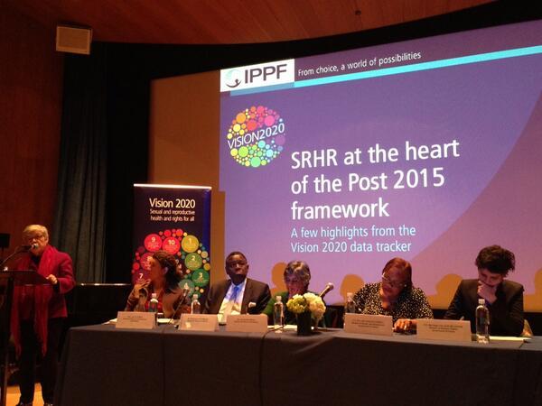 @IPPF #Vision2020 report launch. Impressive panel http://t.co/Bx231KgFy5