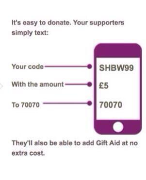 Feeling charitable?? Donating to @GreatOrmondSt has never been easier. TEXT SHBW with the amount to donate to 70070 http://t.co/UACzKCT85j