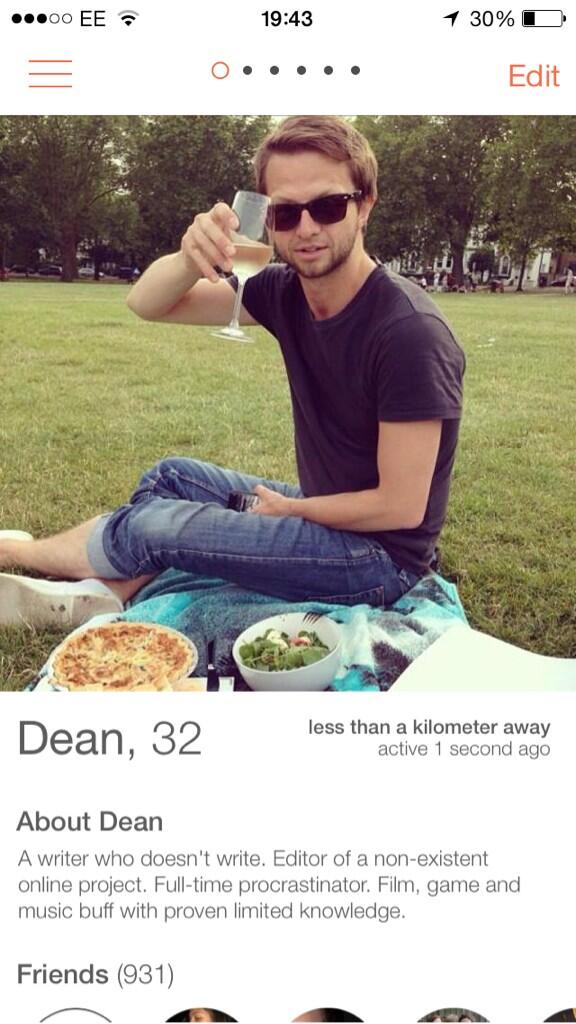 Best male dating profile ever