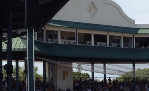 Celebrities at McKechnie Field today include @eddieintheyard. http://t.co/nykmwKjKLa