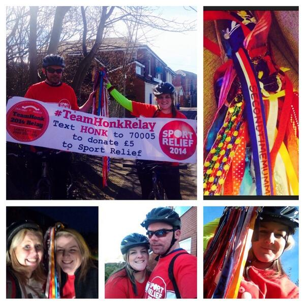 @Team_Honk Thank you for a great day!   Good luck to the rest of the #teamhonkrelay members xxx http://t.co/bva842IFl8