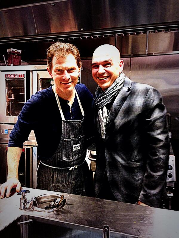 Wowza what a welcome for @bflay's new resto @gatonyc1! @guarnaschelli @joshbeckerman & @chefsymon showing their