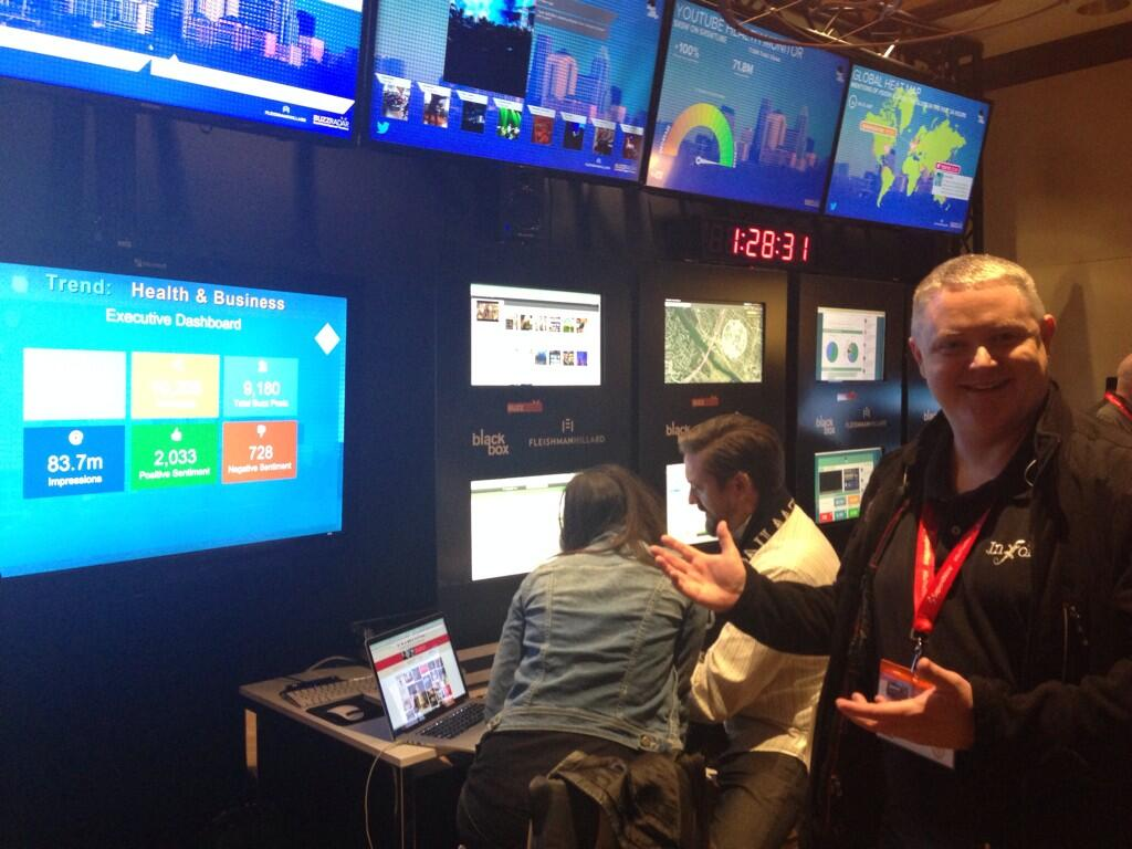 RT @rtkrum: The Fleishman Hillard social media command center is AWESOME! Check it out at #sxsw in the Four Seasons #FHblackbox http://t.co…
