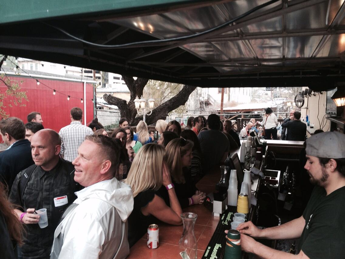 RT @gcast2: OMD peeps. Work hard play hard. #sxsw @OMD_USA http://t.co/X8lLzFKXWs